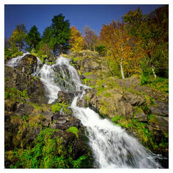 Todtnau Waterfall by jendrynDV