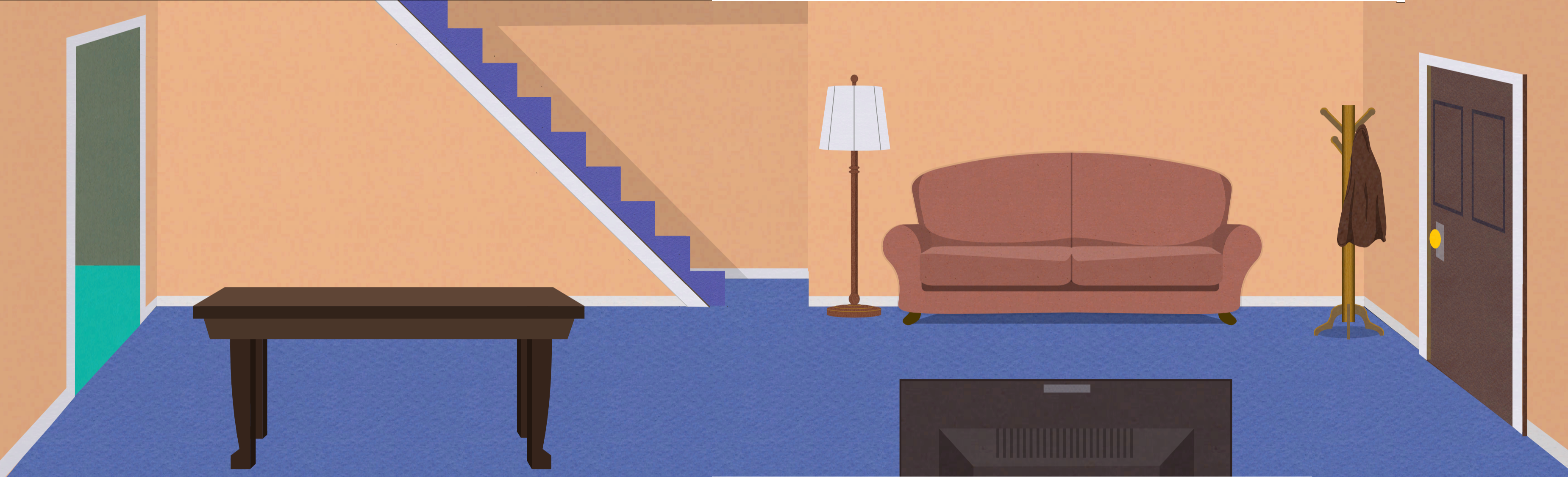 South Park Clyde S Living Room Unused Sot Bg By Roamingberry On Deviantart