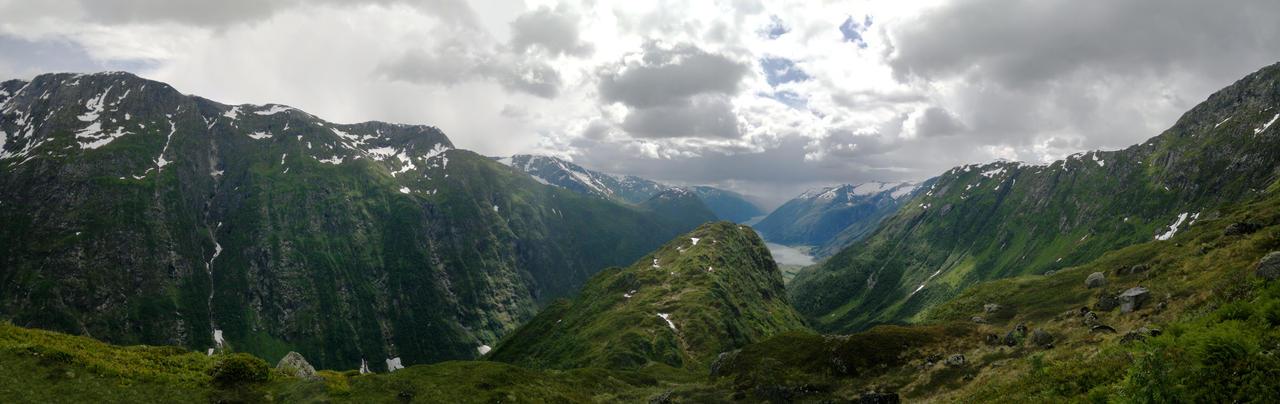 Mountain panorama by LorcanPL