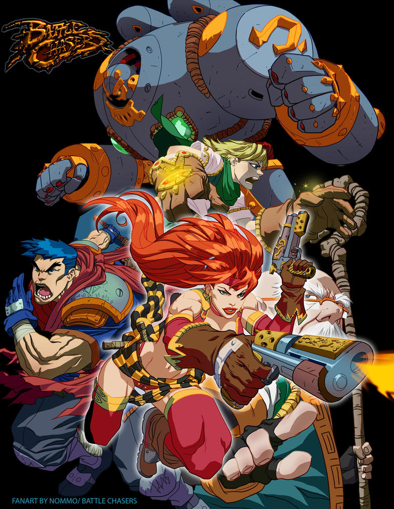 Battle chasers by N0mm0