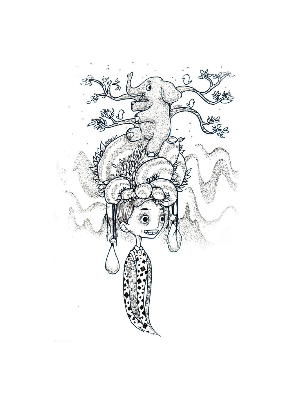 Pencil Drawings Of Elephants Tumblr
