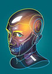Bionic (Self-Portrait) by JTorrevillas