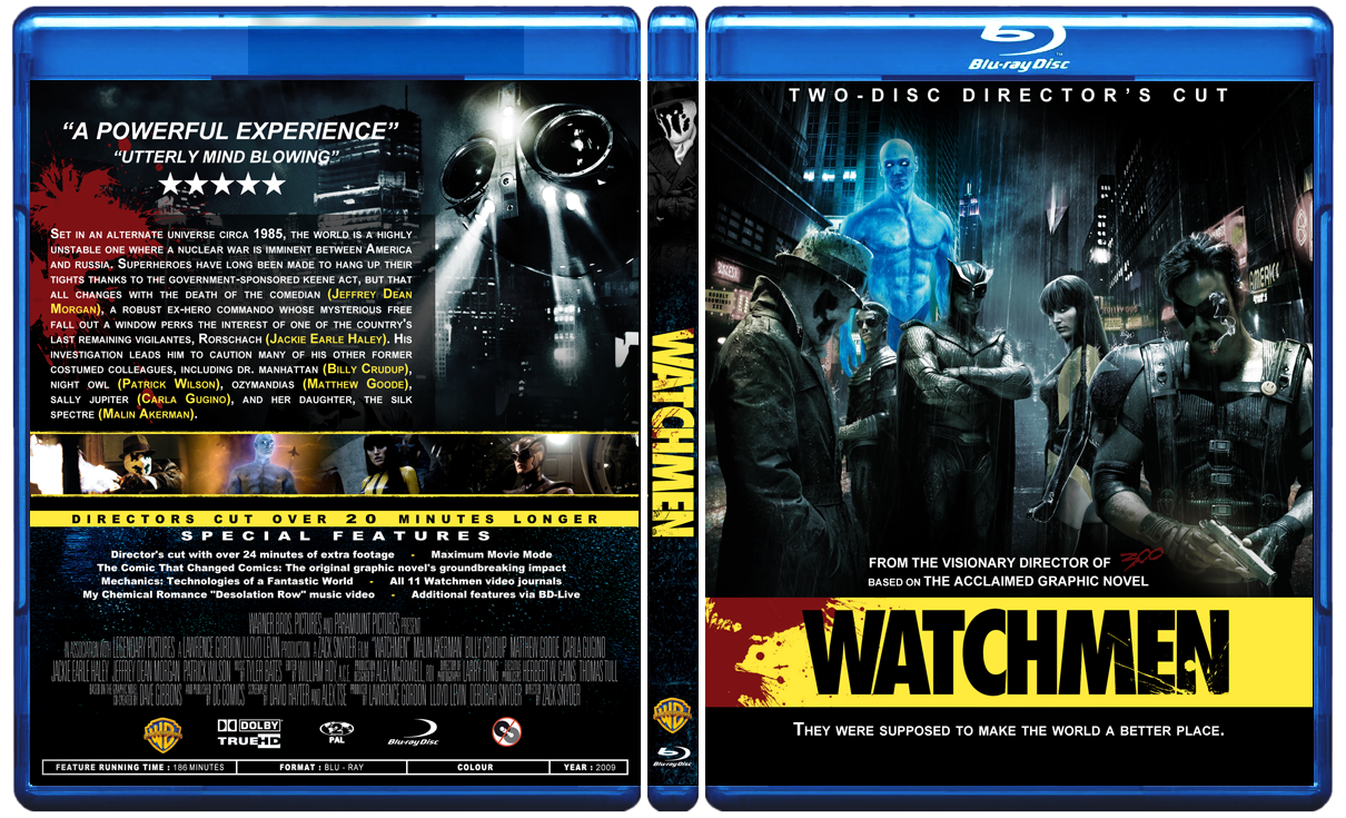 Watchmen Blu-Ray by Staxit on DeviantArt