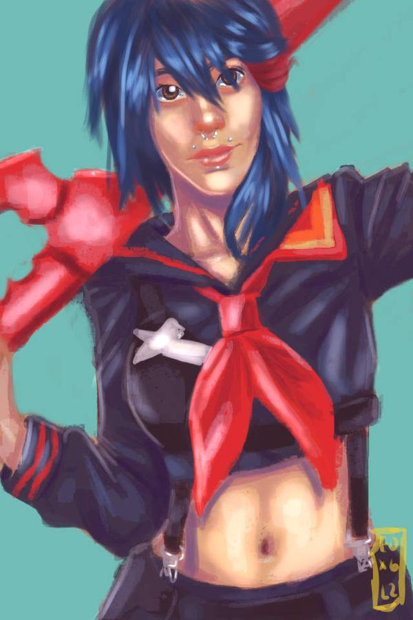 Cosplayer as ryuko matoi by Exile-062