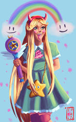 Star butterfly  by Exile-062