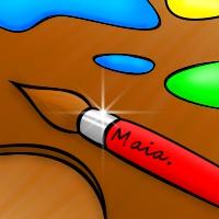 logo of creativity 'Maia' by GaudiFanYAY