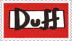 Duff Stamp by engineerJR