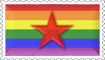 Rainbow Revolutionist Stamp by engineerJR