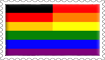 German Rainbow Stamp by engineerJR