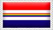Dutch Rainbow Flag Stamp by engineerJR