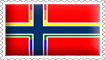 Norwegian Rainbow Flag Stamp by engineerJR
