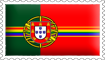 Portuguese Rainbow Flag Stamp by engineerJR