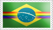Brazilian Rainbow Flag Stamp by engineerJR