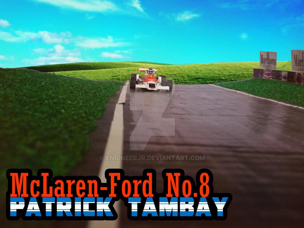 Patrick Tambay by engineerJR
