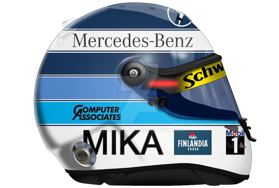 Mika Hakkinen Helmet by engineerJR