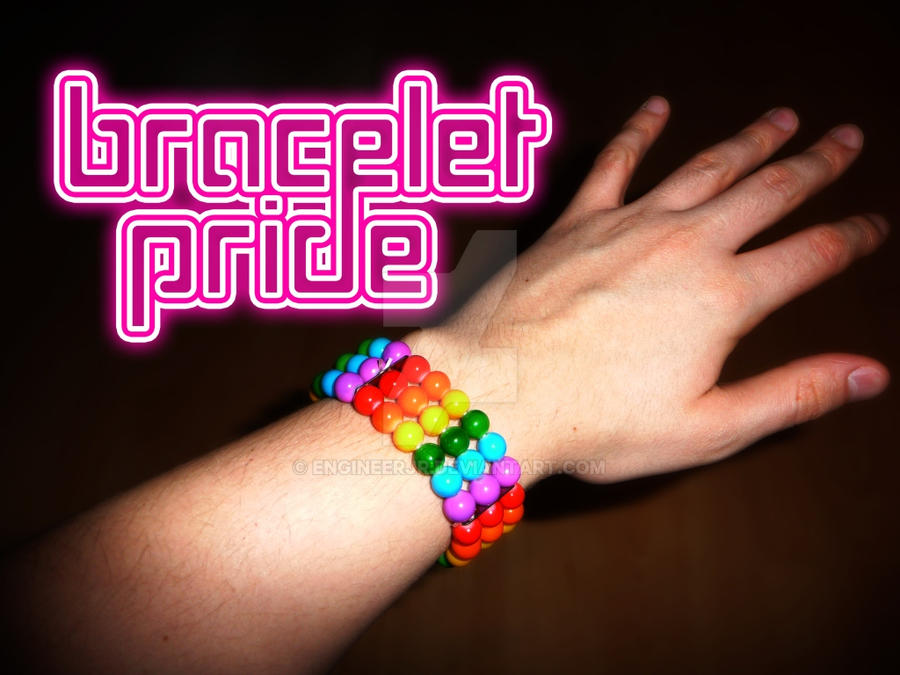Bracelet Pride by engineerJR