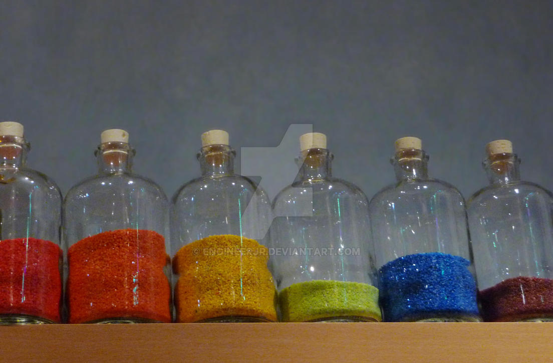 Rainbow Bottles by engineerJR