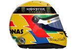 Lewis Hamilton Helmet 2013 by engineerJR