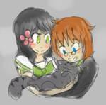Sensei Hanayubi and Mito [ FANART ] by BabehsBby