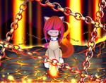 {MLP} - { My OC - Agnes } - Fire pony, by Selena9966