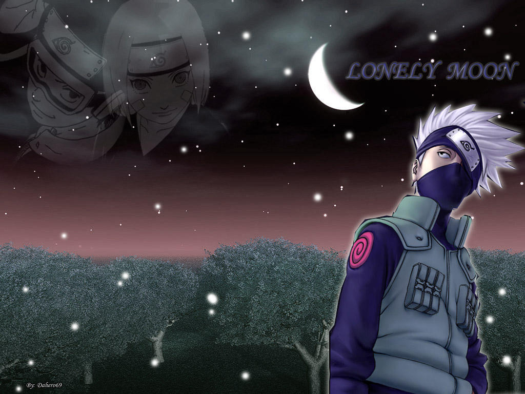 Kakashi, Obito, Rin Desktop by Rocket42