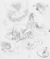 more avatar stuff - creatures by luve