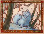 badge - wolfy