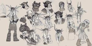 more HTTYD fan art doodles