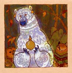 white bear by luve