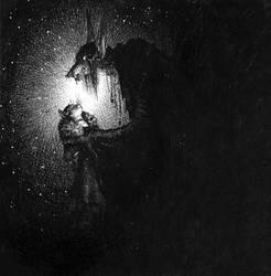 claude - noir by luve