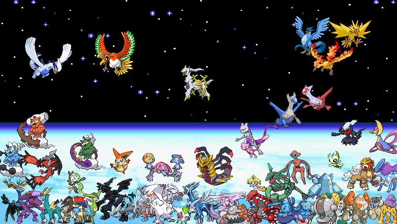 List Of All Shiny Legendary Pokemon