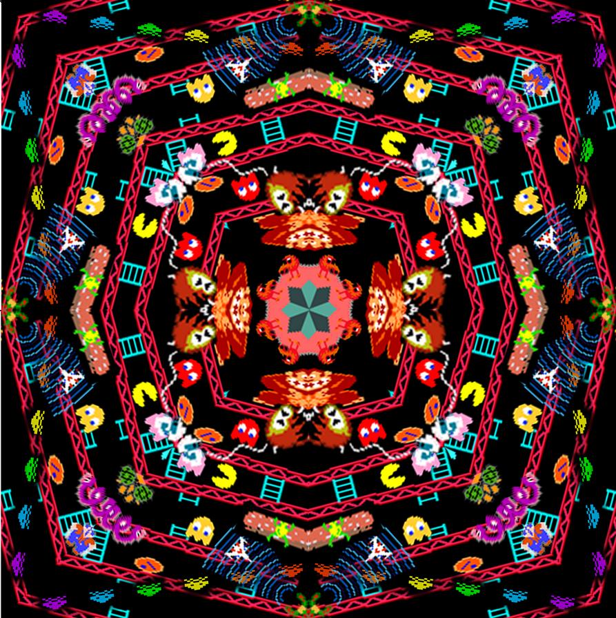 80's Arcade Gaming - Kaleidoscope by Ibrahim77x