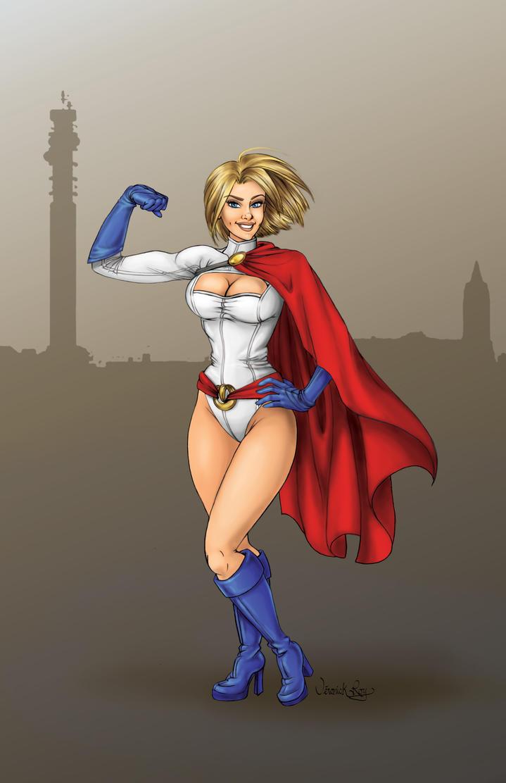 Power Girl by VeronickArt