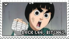 ROCK LEE STAMP, BITCHES. by akizumi