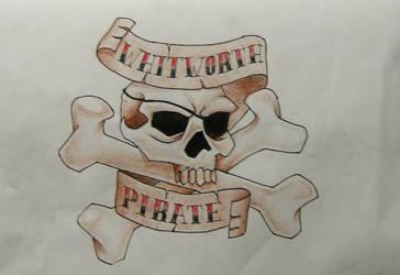 whitworth pirates by BombshellTattoo