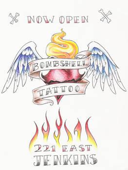 color bombshell flyer by BombshellTattoo
