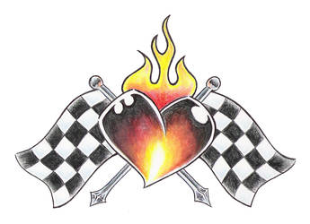 cross my heart by BombshellTattoo