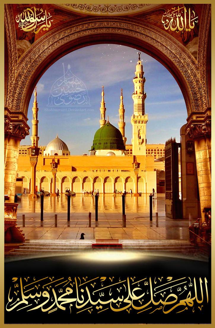 Beautiful Wallpaper High Resolution Madina - madina_high_masjid_e_nabwi_by_shahbazrazvi-d99sh33  Photograph_732110.jpg