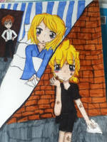 Contest entry RinxLen prisoner and paper plane by DetectiveOrenji