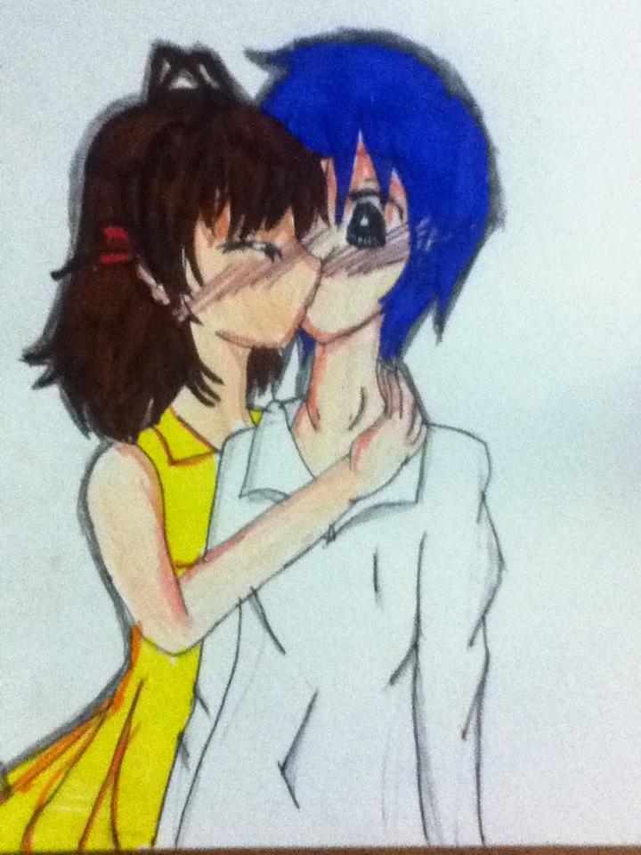 Clannad Tomoya And Nagisa Kiss By Detectiveorenji On Deviantart