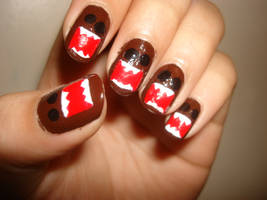 Domo nails 2 by trulyheart