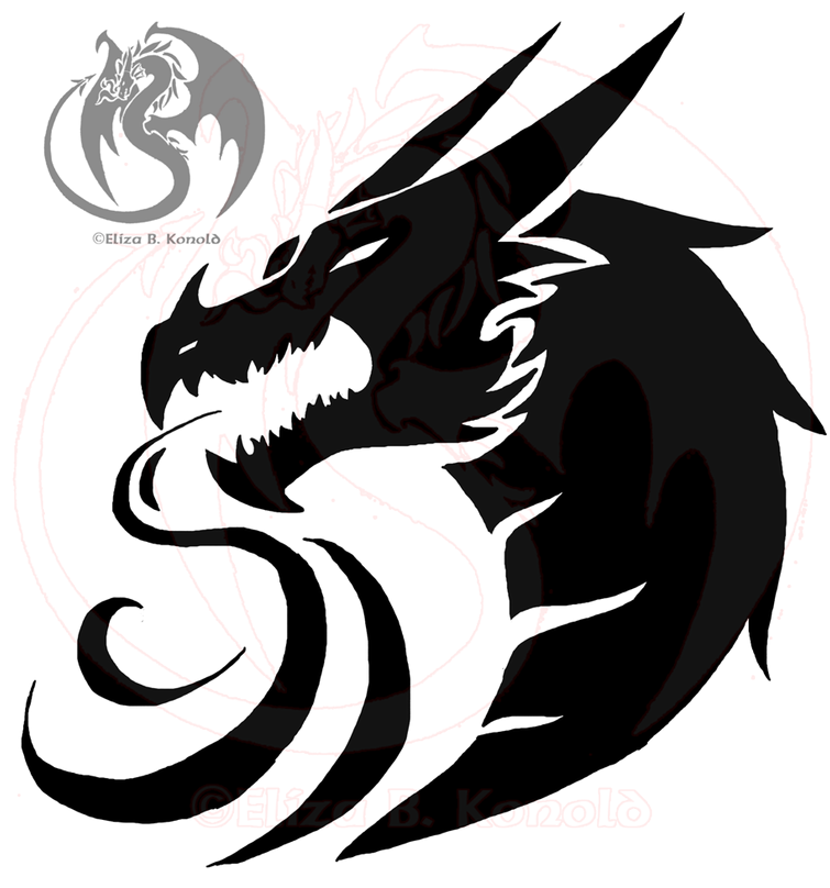 new dragon tattoo updated by firethroat on deviantart
