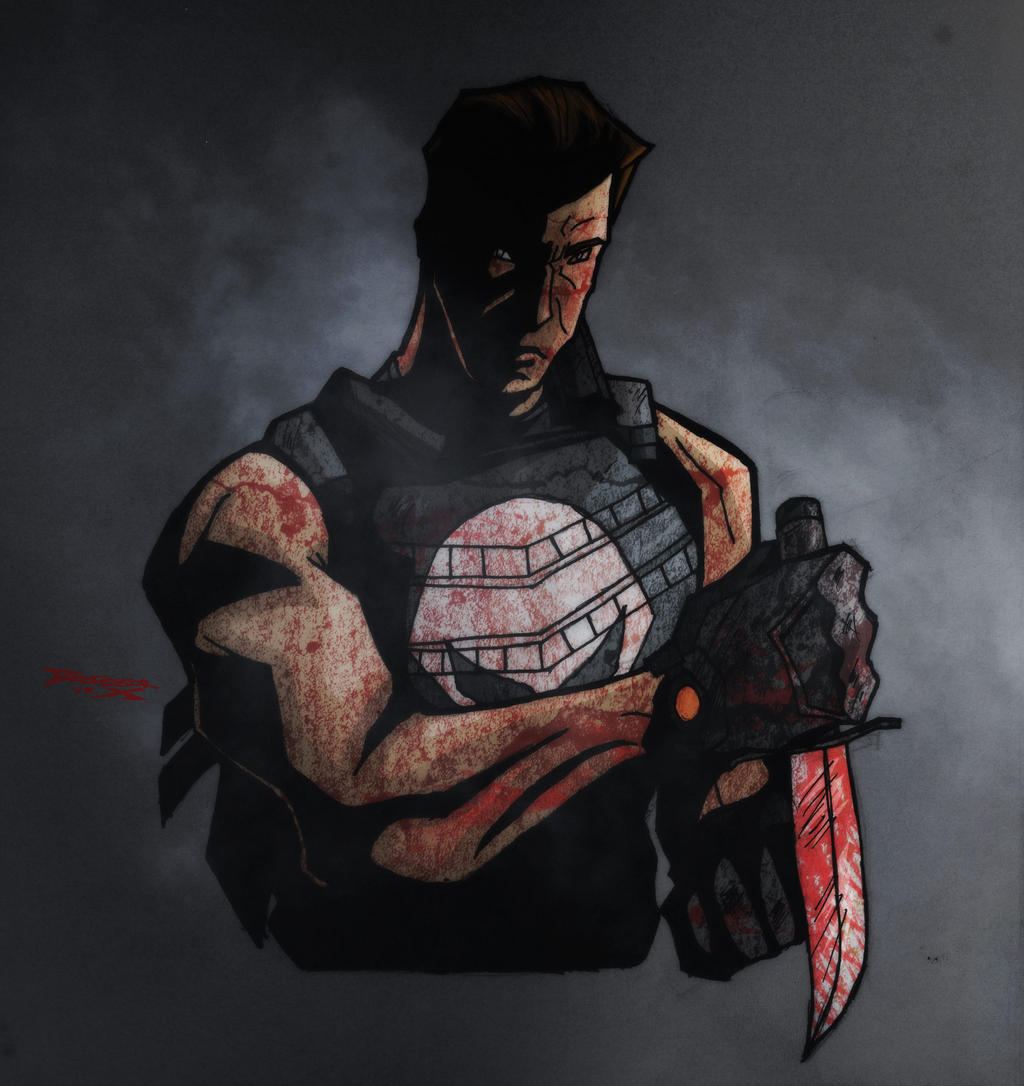 Kevin Porter Punisher by BrofessorX on DeviantArt