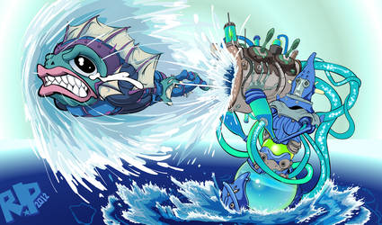 Launch the Fishies! by SeigneurRuei