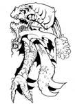 Ninja zombie carrot monster