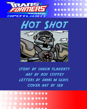 HOT SHOT Title Page