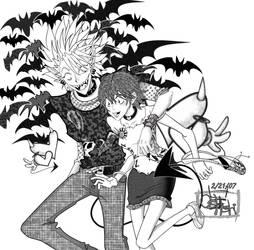 2007 Valentine's Fanart by OsHoshi
