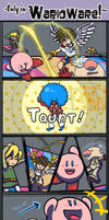 My very FIRST lame comic by OsHoshi