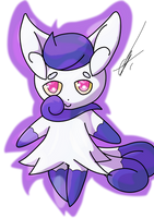Chibi Meowstic by IronSwordUltra