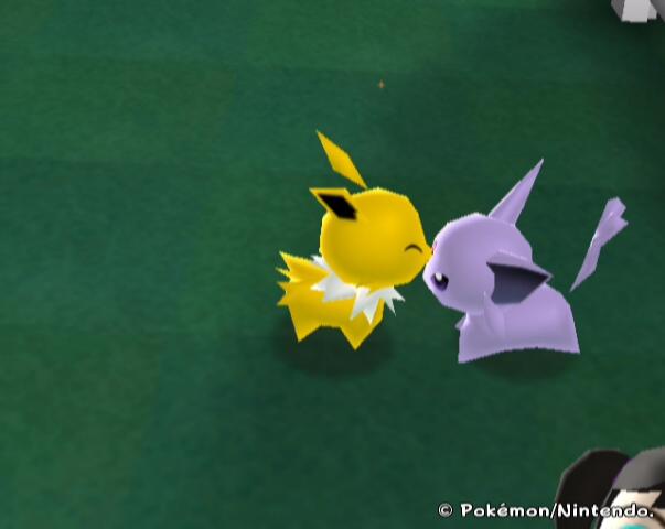 Pokemon Ranch-Jolteon+Espeon by PrincessOfLior on DeviantArt